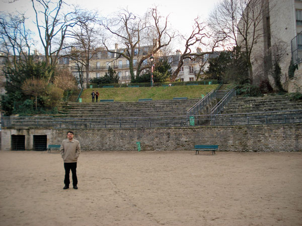 Arènes de Lutèce - Paris - Fui e Vou Voltar - Alessandro Paiva