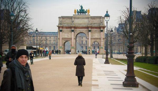 Arco do Triunfo do Carrossel, no Carrousel du Louvre - Paris - Fui e Vou Voltar - Alessandro Paiva