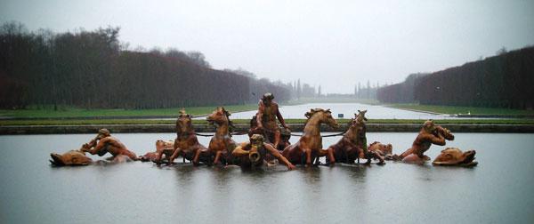 Fonte de Apolo, no Palácio de Versalhes - Paris - Fui e Vou Voltar - Alessandro Paiva