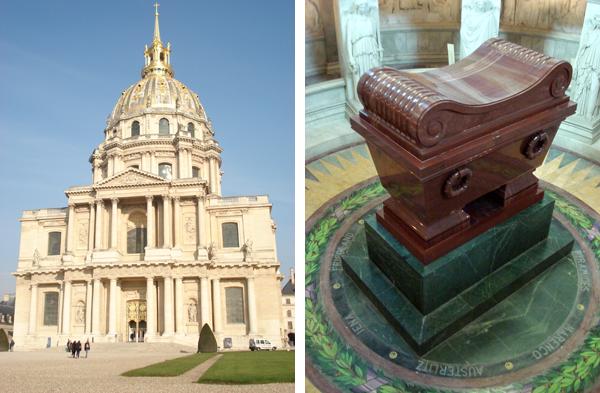 Les Invalides e a tumba de Napoleão Bonaparte - Paris