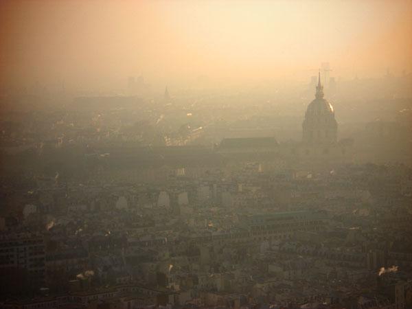 Hôtel National des Invalides visto da Torre Eiffel - Paris - Fui e Vou Voltar - Alessandro Paiva