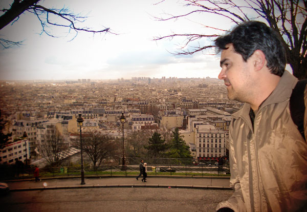Vista de Montmartre, da Sacré-Cœur - Paris - Fui e Vou Voltar - Alessandro Paiva
