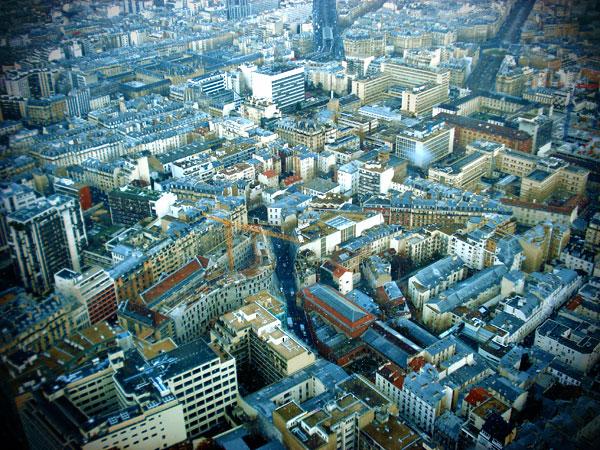 Vista do topo da Torre Montparnasse - Paris - Fui e Vou Voltar - Alessandro paiva