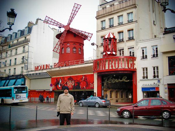 Moulin Rouge - Paris - Fui e Vou Voltar - Alessandro Paiva
