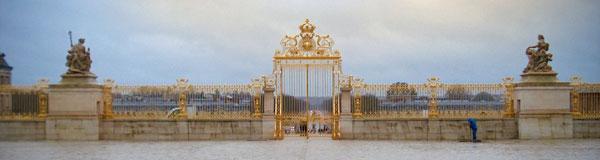 Portão do Palácio de Versalhes - Paris - Fui e Vou Voltar - Alessandro Paiva