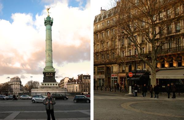 Praca da Bastilha - Paris