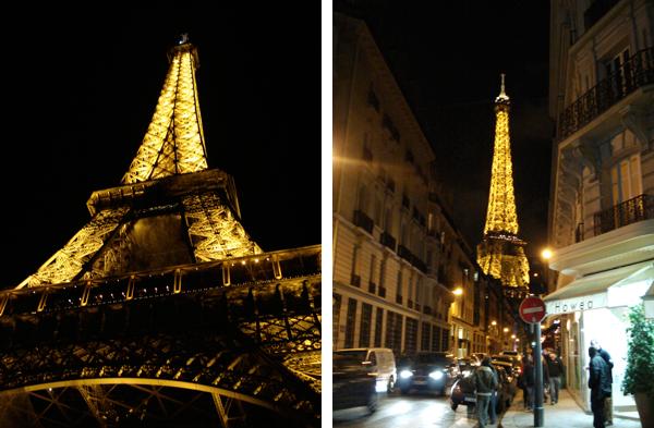 Torre Eiffel iluminada - Paris