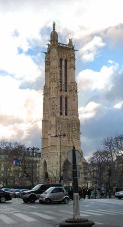 Torre Saint-Jacques - Paris - Fui e Vou Voltar - Alessandro Paiva
