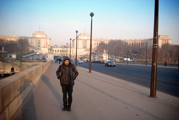 Pont d'Iéna - Trocadéro ao fundo - Paris - Fui e Vou Voltar - Alessandro Paiva