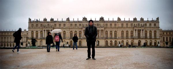 Fundos do Palácio de Versalhes - Paris - Fui e Voiu Voltar - Alessandro Paiva