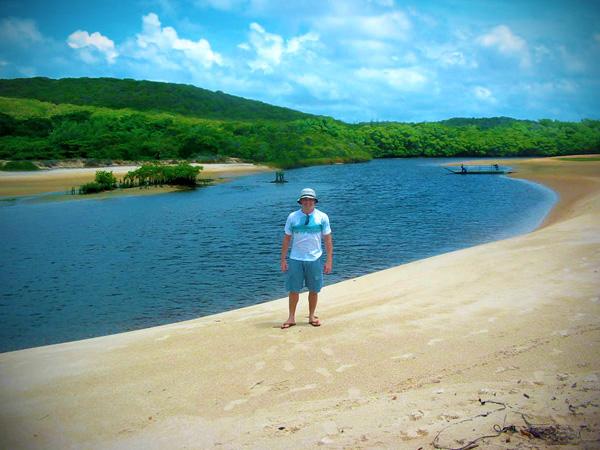 Rio Guaju, na fronteira do Rio Grande do Norte com a Paraíba - Fui e Vou Voltar - Alessandro Paiva