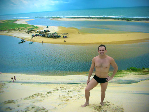 Vista do Rio Guaju, na Praia do Saji, fronteira do Rio Grande do Norte com a Paraíba - Fui e Vou Voltar - Alessandro Paiva
