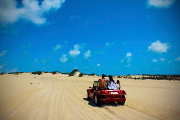 Passeio pelas dunas de Genipabu - Natal - Fui e Vou Voltar - Alessandro Paiva