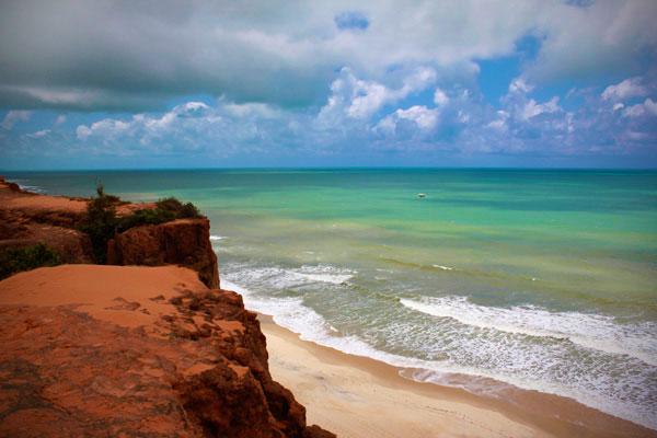 Praia de Cacimbinhas vista de suas falésias - Natal - Fui e Vou Voltar - Alessandro Paiva