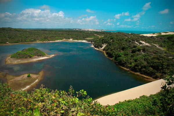Vista da Lagoa de Genipabu - Natal - Fui e Vou Voltar - Alessandro Paiva