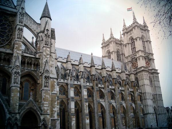 Lateral esquerda da Abadia de Westminster - London - Fui e Vou Voltar - Alessandro Paiva