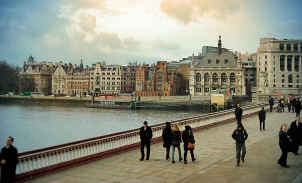Londres vista no retorno a Saint Pancras - London - Fui e Vou Voltar - Alessandro Paiva