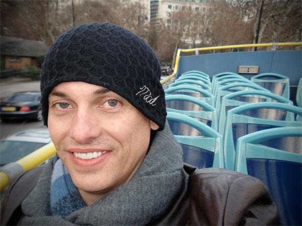 Passeio de ônibus por Londres, no segundo andar - Fui e Vou Voltar - Alessandro Paiva