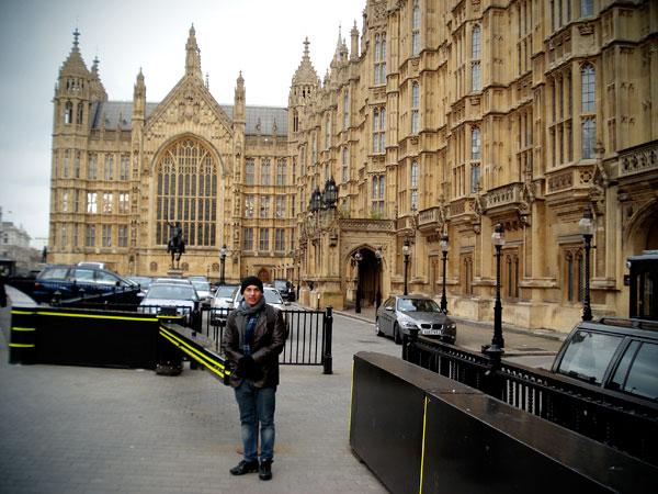 Palácio de Westminster (Casa do Parlamento) - London - Fui e Vou Voltar - Alessandro Paiva