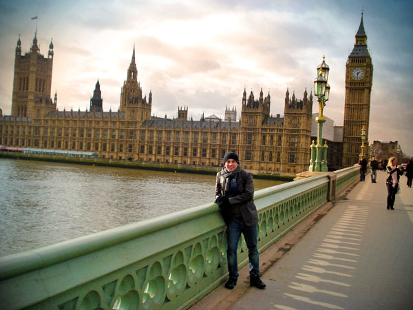 Palácio de Westminster, visto da Ponte de Westminster - London - Fui e Vou Voltar - Alessandro Paiva