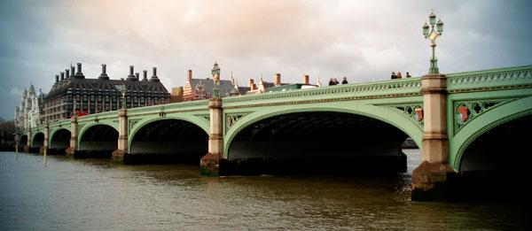 Ponte de Westminster, sobre o Tâmisa - London - Fui e Vou Voltar - Alessandro Paiva