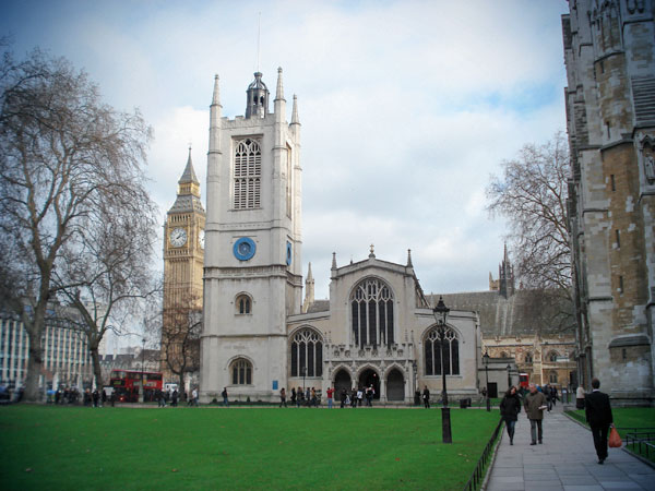 Igreja de Santa Margarida - London - Fui e Vou Voltar - Alessandro Paiva