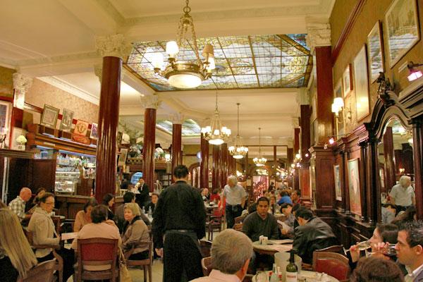 Café Tortoni - Buenos Aires - Fui e Vou Voltar - Alessandro Paiva
