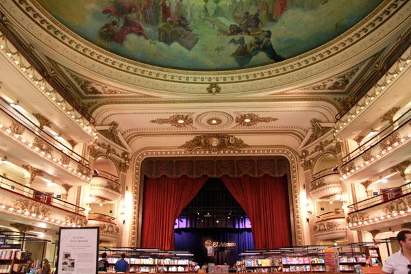 Livraria El Ateneo Grand Splendid - Buenos Aires - Fui e Vou Voltar - Alessandro Paiva