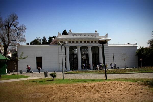 Entrada do Cementerio de la Recoleta - Buenos Aires - Fui e Vou Voltar - Alessandro Paiva