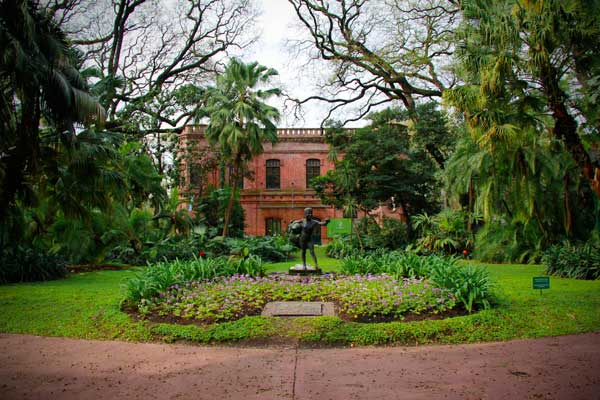 Jardim Botânico Carlos Thays - Buenos Aires - Fui e Vou Voltar - Alessandro Paiva