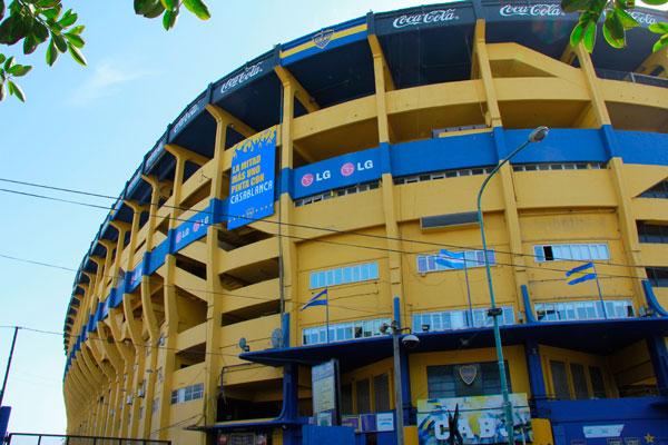 La Bombonera, estádio do Boca Juniors - Buenos Aires - Fui e Vou Voltar - Alessandro Paiva