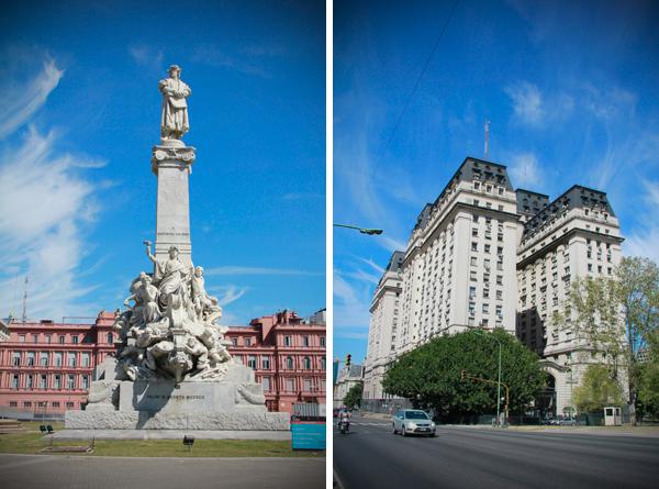 Parque Colón e Ministerio da Defesa - Buenos Aires - Alessandro Paiva