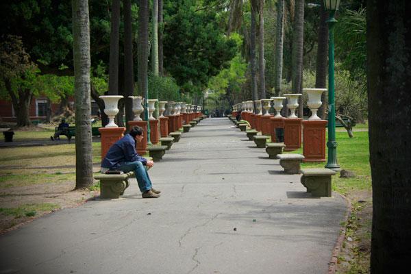 Parque Lezama - Buenos Aires - Fui e Vou Voltar - Alessandro Paiva