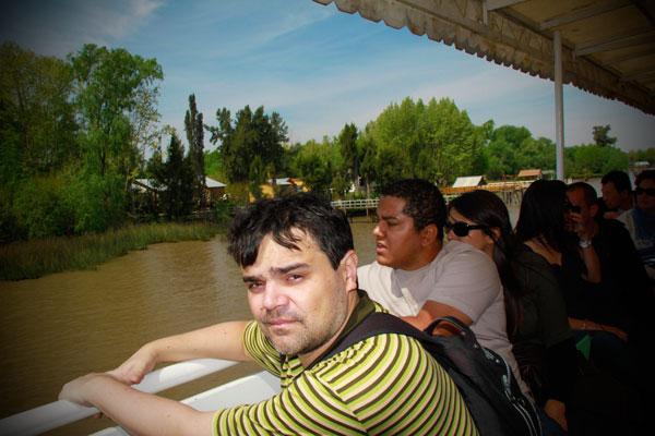 Passeio de barco no Delta do Tigre - Buenos Aires - Fui e Vou Voltar - Alessandro Paiva