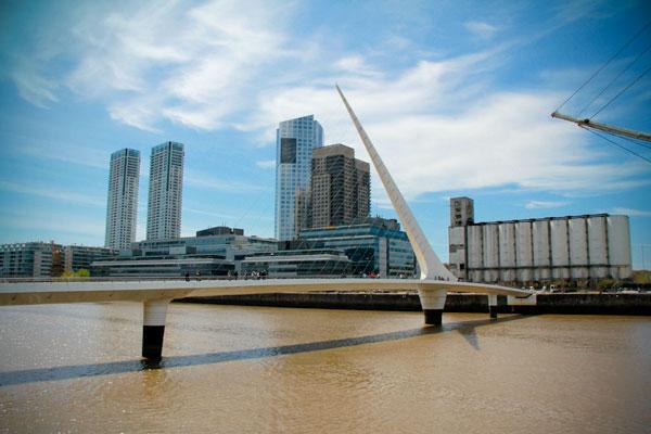 Puente de la Mujer - Buenos Aires - Fui e Vou Voltar - Alessandro Paiva