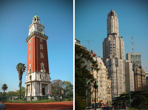 Torre Monumental e Edificio Kavanagh - Buenos Aires - Alessandro Paiva