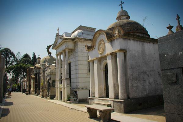 Cementerio de la Recoleta - Buenos Aires - Fui e Vou Voltar - Alessandro Paiva