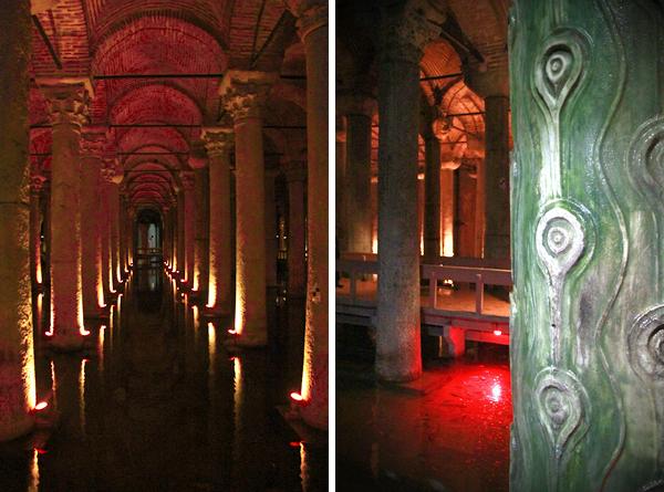 Cisterna da Basílica - Istambul - Alessandro Paiva