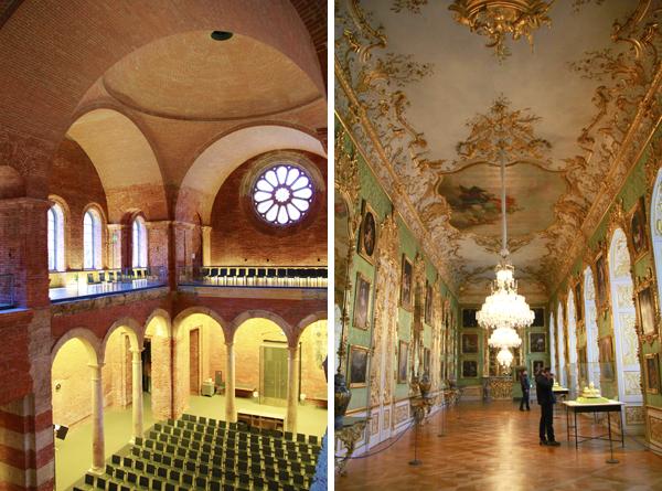 Igreja Palatina de Todos os Santos e uma das salas do palácio - Munique - Alessandro Paiva