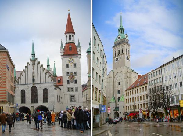 Altes Rathaus (Velha Prefeitura) e Igreja de São Pedro - Munique - Alessandro Paiva