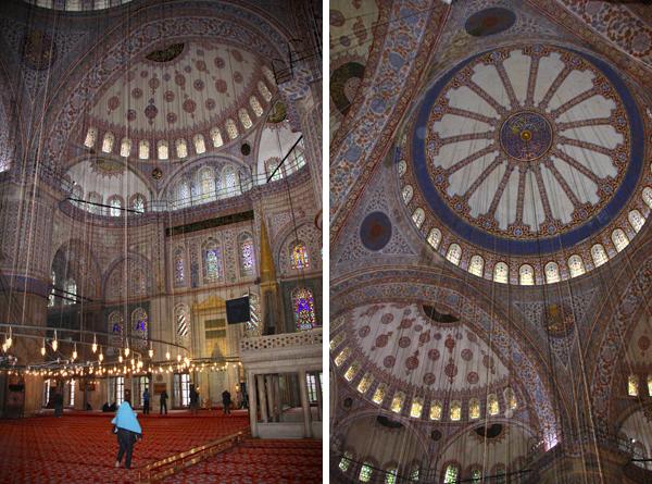 Mesquita de Sultanahmet ou Mesquita Azul - Istambul - Alessandro Paiva
