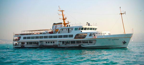 Balsa que faz o cruzeiro pelo Bósforo - Istanbul - Fui e Vou Voltar - Alessandro Paiva