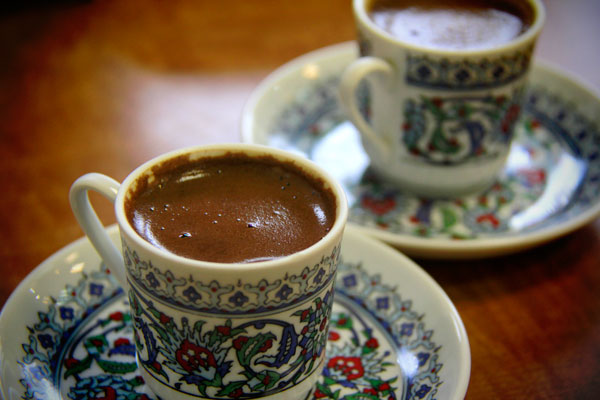 Café turco (türk kahvesi) - Istanbul - Fui e Vou Voltar - Alessandro Paiva