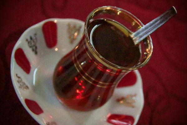 Chá turco - Istanbul - Fui e Vou Voltar - Alessandro Paiva
