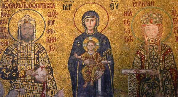 Mosaicos - Comneus, na Santa Sofia - Istanbul - Fui e Vou Voltar - Alessandro Paiva