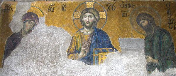 Mosaicos - Deësis, na Santa Sofia - Istanbul - Fui e Vou Voltar - Alessandro Paiva