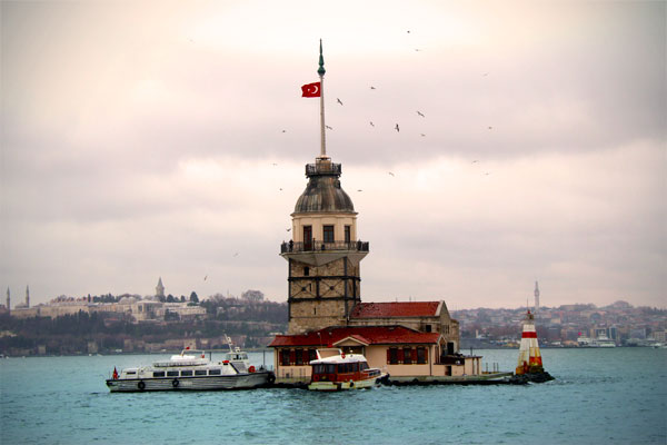 Torre de Leandro (Kız Kulesi), em Üsküdar - Istanbul - Fui e Vou Voltar - Alessandro Paiva