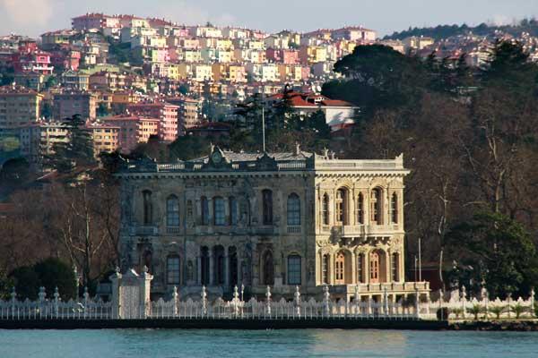Palácio Küçüksu, na margem asiática do Bósforo (ida a Anadolu Kavaği) - Istanbul - Fui e Vou Voltar - Alessandro Paiva