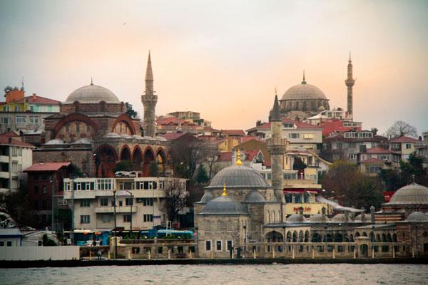 Üsküdar, visto da balsa - Istanbul - Fui e Vou Voltar - Alessandro Paiva