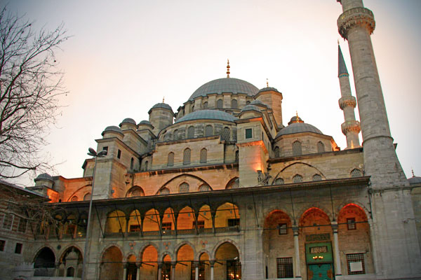 Mesquita Yeni (Mesquita Nova) - Istanbul - Fui e Vou Voltar - Alessandro Paiva